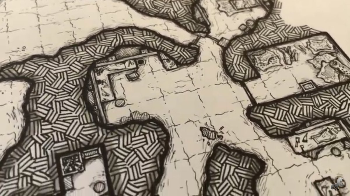 Big thanks goes out to Kevin at Always Board Never Boring for featuring one of my maps and throwing out a few links in their latest video https://t.co/u0loolQl8u go check them out and add a comment #dnd #dnd5e #ttrpg #dungeonsanddragons #mapmaking #cartography https://t.co/xZcCsGlKpP