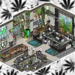 Image for the Tweet beginning: 🌱Cannabis Grow shop🍃 -On @habboxfrance   #habbo