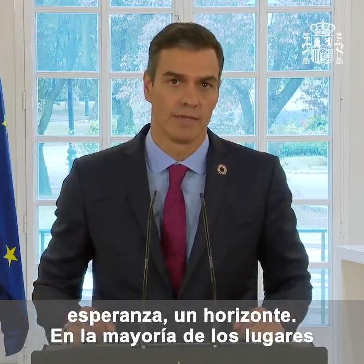 Twitter Pedro Sánchez. Hago un llamamiento a la comunidad inte...: abre ventana nueva
