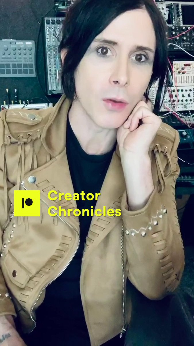 Watch IAMX Creator Chronicles No.4 now on YouTube:  https://t.co/I8kR7JFLCM  #IAMX @Patreon #CreatorChronicles #IAMX9 https://t.co/V7sgmZywTo