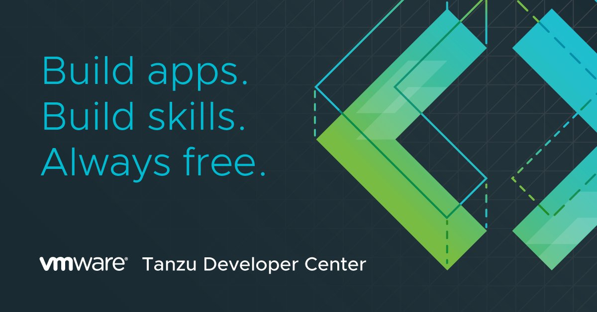 Introducing the VMware #TanzuDeveloper Center! Any devs who build modern apps and want to build skills, VMware is now for you too. https://t.co/wHxUPpFUX5 https://t.co/Dm2fB2LaXN