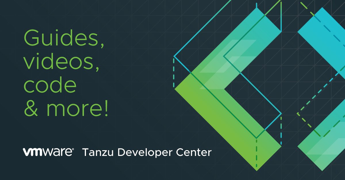 Introducing the VMware #TanzuDeveloper Center! Any devs who build modern apps and want to build skills, VMware is now for you too. https://t.co/joi7BsNhq7 https://t.co/WANcGZTyzw