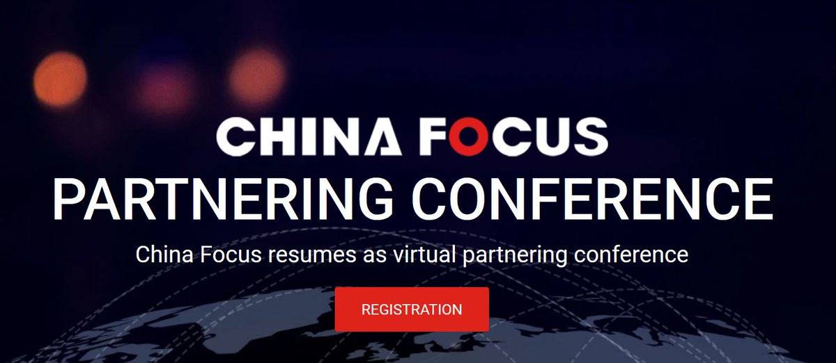 China Focus is going virtual!  Registration: Open until October 18 Live Partnering: Open from October 19-21  #chinafocus #partnering #oneononemeeting