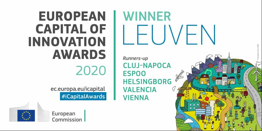 Leuven is on track to becoming a beacon of inspiration for a healthy, sustainable, and innovative urban future! Congratulations to all the great innovators, researchers, entrepreneurs, and citizens of @stadleuven on being this year's European Capital of Europe!🥇 #RiDaysEu https://t.co/3WfkFFtU8O
