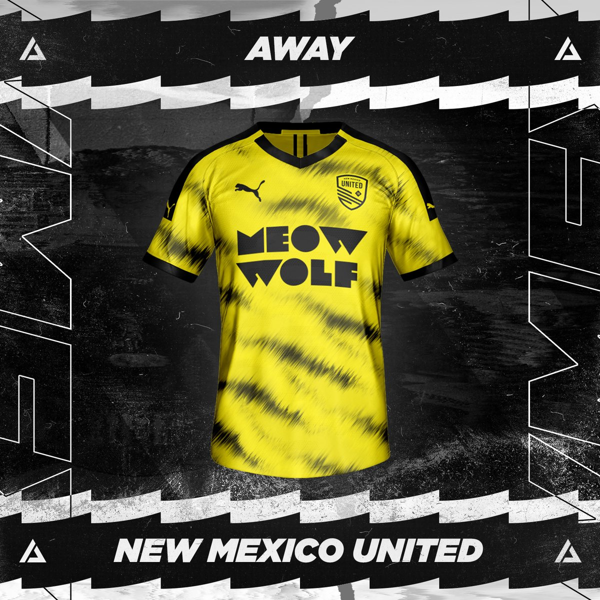 New Mexico United Away Kit Concept. ⁠ Rate 1-10! ⁠ #JPereira #NewMexicoUnited #NewMexico #NM #NMUnited #SomosUnidos #SomosFamilia #NMProud #NMStrong #NMTrue #Futbol #FantasyKit #ConceptKit #KitDesign #Soccer #Football #Jersey #GraphicDesign #PUMA #FIFA #Kit #USA https://t.co/g48ejW1GIo