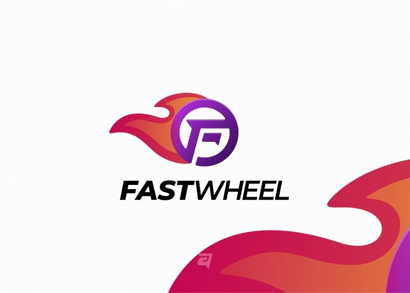 FastWheel.  What do you think about the colors and gradient of this design?  #logo #design #graphicdesign #branding #designer #logomaker #graphicdesigner #simple #vector #logodesigns #logoplace #colorful #icon #gradient #wheel #branding #logotype https://t.co/BM3PVsrWDM