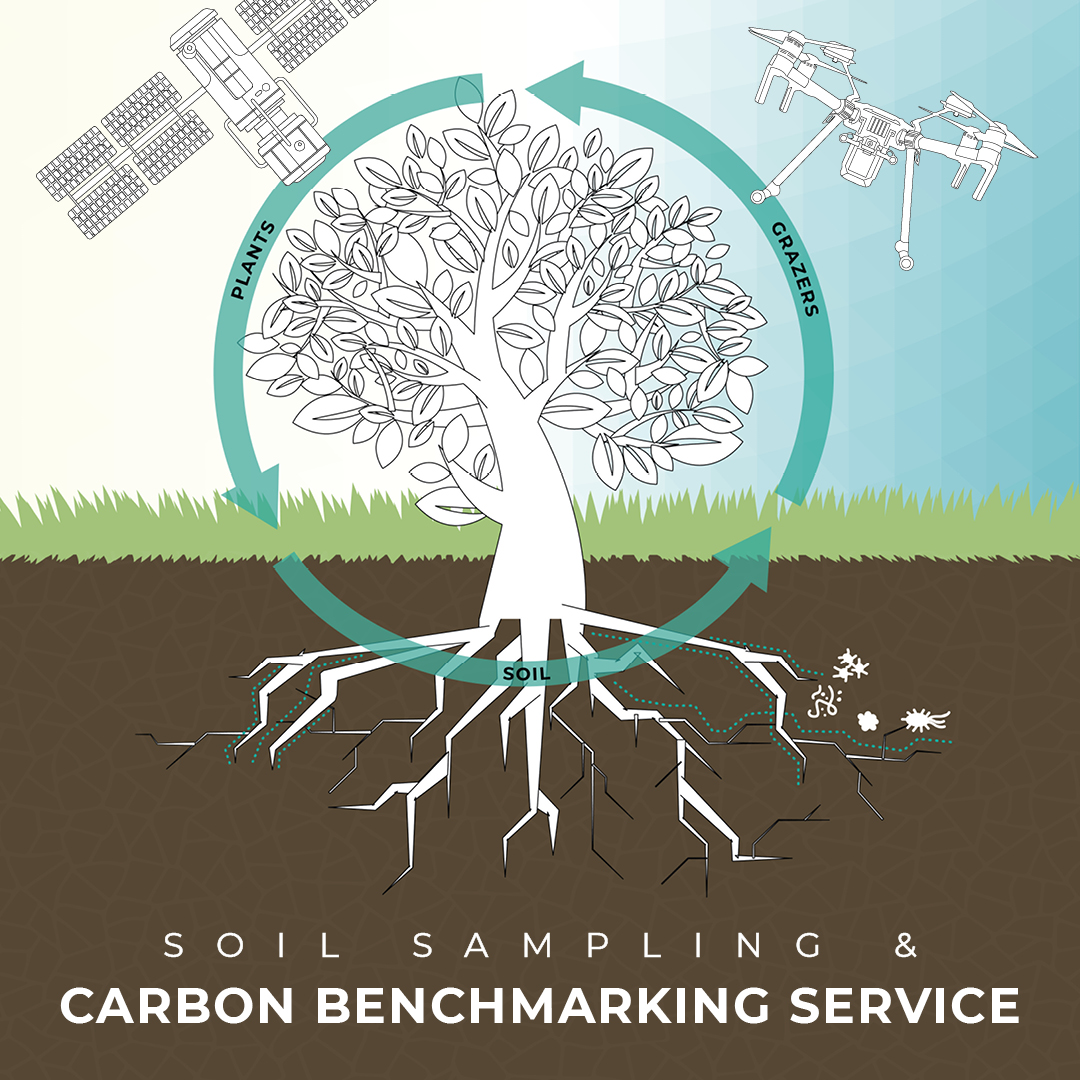 #Sustainability: It's easy to say we're committed to helping agriculture improve their #sustainable practices, but we can prove it!  We helps farmers to establish their values for #carbon now, then advise on action that will capture max possible carbon in the soil. #soilsample https://t.co/YrnATUsBZo