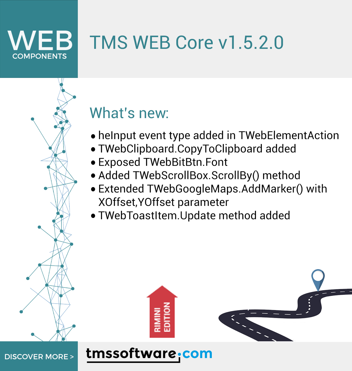TMS WEB Core v1.5.2.0 has been released! Free download now available for registered users! Discover more: https://t.co/CQBJ6UviZQ  #DELPHI #Developer #RELEASE https://t.co/7rGgukPium
