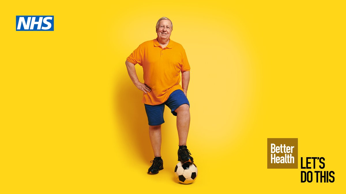 Have you been inspired to kickstart your health during the Great British Week of Sport?   It is never too late to get active to improve your health. For ideas & support on ways to move more in a way that works for you click here: https://t.co/mmROCuZ0Wi  #BeActive #BetterHealth