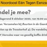 Image for the Tweet beginning: Utrecht Noordoost Eén Tegen Eenzaamheid