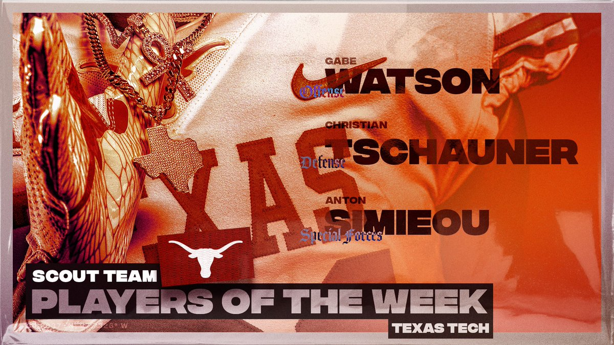 Scout Team Players of the Week 🤘