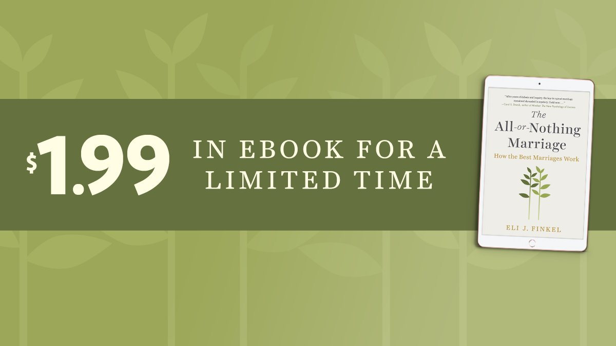 1/ Whoa! @PenguinUSA is offering a crazy e-book sale for THE ALL-OR-NOTHING MARRIAGE. It is, for now, only $1.99! I hope you'll consider buying it -- and, if you like it, posting a review on @Amazon or @Goodreads. I also hope you'll join me for a Twitter thread down memory lane. https://t.co/IIhtvOdF6o