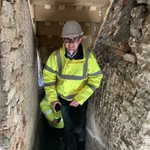 Our new trainee project manager made his first site visit today to the restoration at Finsley Gate.  All progressing well  @CanalRiverTrust  @Rosslee1 @InsallArch @HeritageFundUK @HeritageFundNW