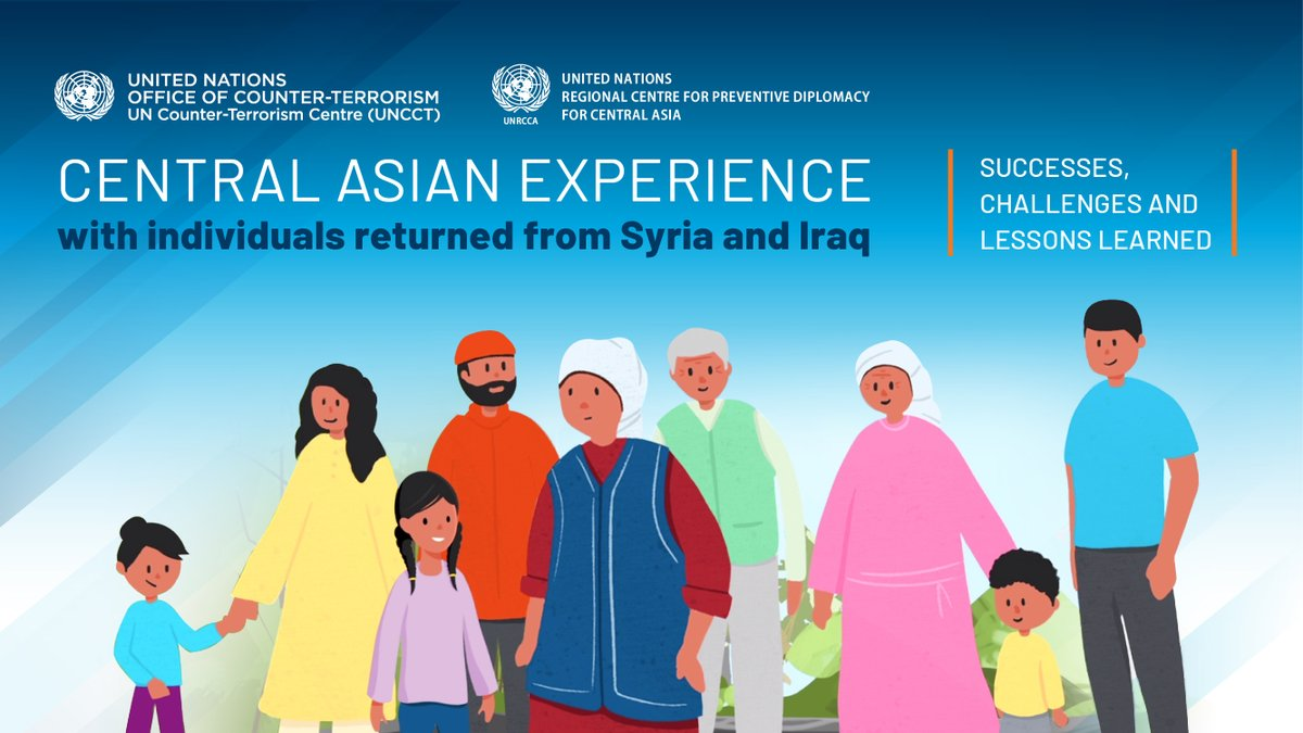 Central Asian countries' pioneering return of their nationals from Syria🇸🇾 & Iraq🇮🇶 is positive; other States need to follow their lead.  Together with @UN_OCT, @UNICEF & @UN family, @UNHumanRights stands ready to support States in human rights-compliant returns.   #Returnees https://t.co/I9KasLz2Ft