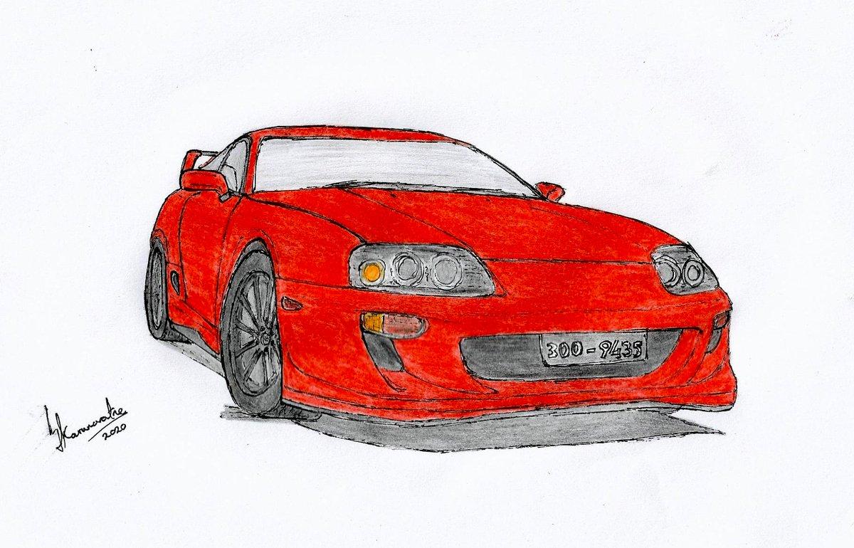 1993 Toyota Supra 4th Gen #drawing #sketch #pencil #pen #ink #paper #freehand #traditionalart #artist #art #cars #carart #carartist #sketching #pencilart #pencildrawing #artistsontwitter #srilanka #lka #2jz #jdm #legends #twinturbo #turbo #4thgen #90s #oldschool #classic #orange https://t.co/2KL2gBktJc