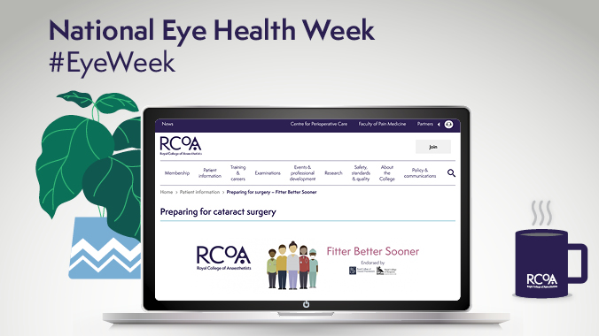 In support of National #EyeWeek, access our useful information for patients having cataract surgery in our Fitter Better Sooner resources: https://t.co/3guKaxuMln  @myvisionmatters @CPOC_News @preopuk https://t.co/shWMYTyjB4