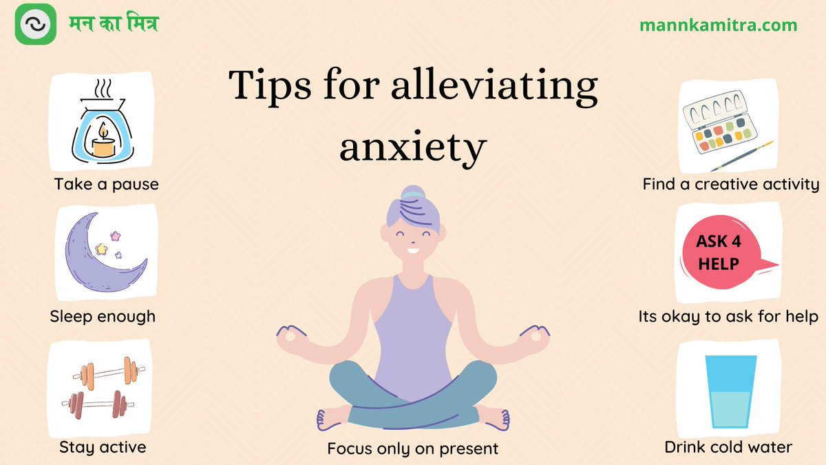 Try this out when you are feeling anxious or stressed. These tips can help you relax and regain control.  #mentalhealth #mentalhealthawareness #mentalhealthmatters #mentalhealthsupport #mentalhealthisimportant #mentalwellbeing #mentalwellness #mentalhealthatwork #mentalillness https://t.co/jxbJOo7I4K