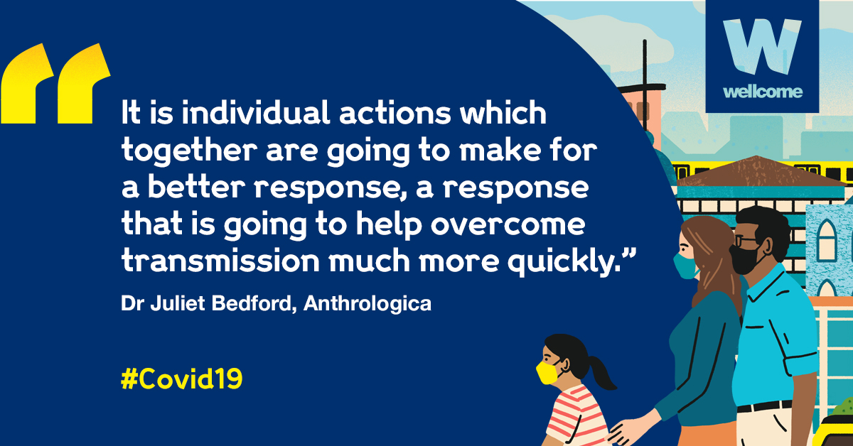 We need a 'one for all and all for one' approach, says @bedford_juliet  That's how we overcome the wider impact of #Covid19 together ➡️ ️ https://t.co/Rv51781dDt https://t.co/NwpSxd1hOh