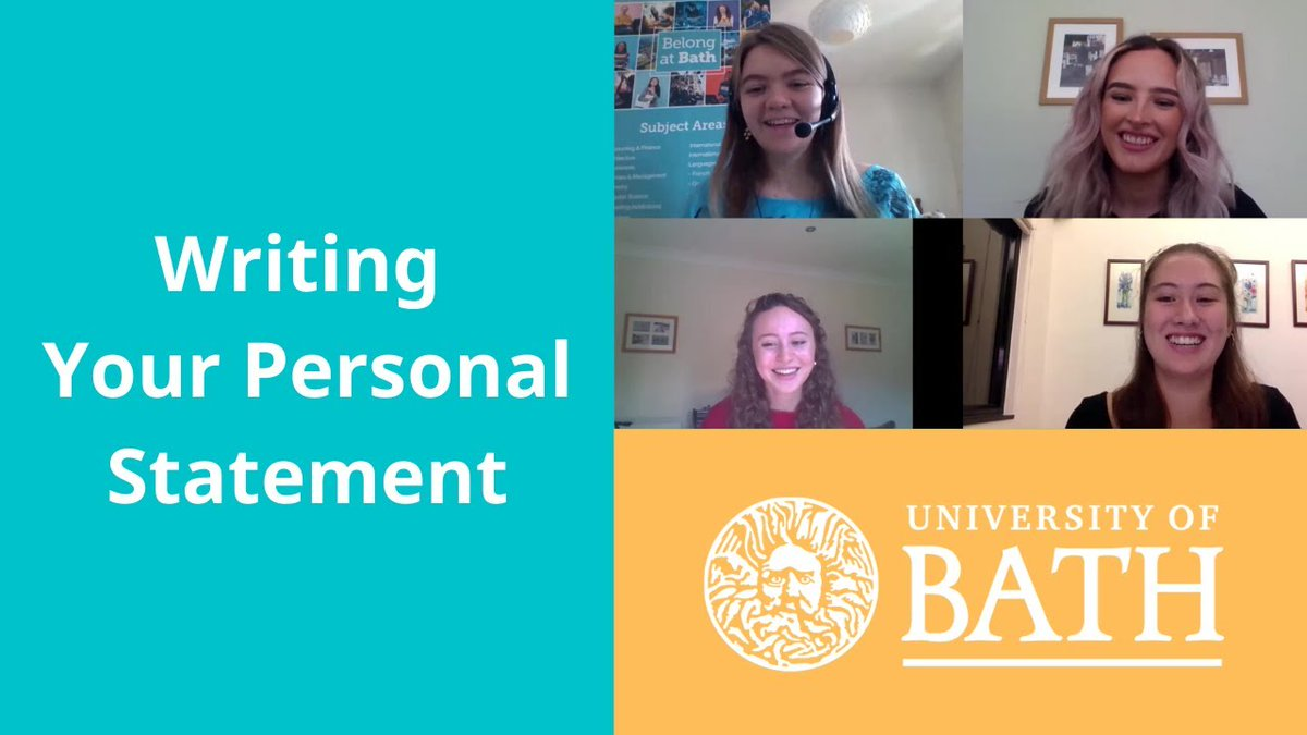 Thinking of applying for 2021 entry to university?   Watch our students discuss the process of writing a Personal Statement for some top tips ⤵️   https://t.co/h2P9pWbftO  @ucas_online https://t.co/dbVWnXcXq5