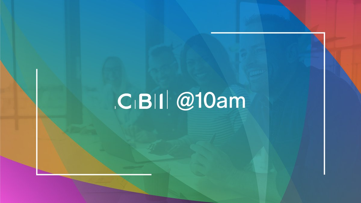 Join CBI Director-General @cbicarolyn, and Chief UK Policy Director, @cbimatt, on Monday's broadcast of CBI @ 10am.   Get an update on the latest political developments, including a review of the Chancellor's winter economic plan.  Sign up: https://t.co/pyppZyNTvQ https://t.co/ianAUmc6xg