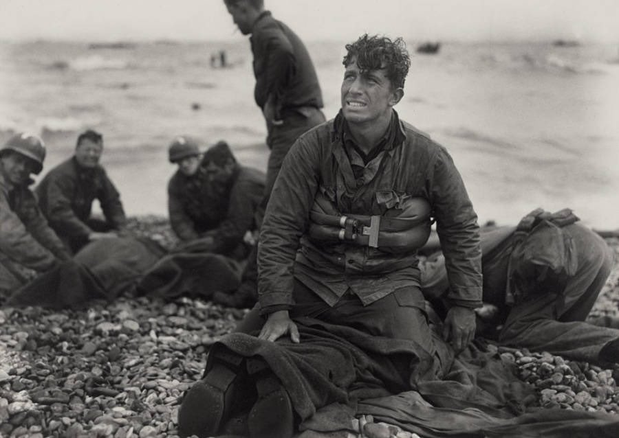 won't be a doctor or trainer to assist you until after the battle, so just wait your turn.Take your cleats and socks off to get a real experience. Then take a knee.Then, take one at the beach in Normandy where man after American man stormed the beach, even as the one in front