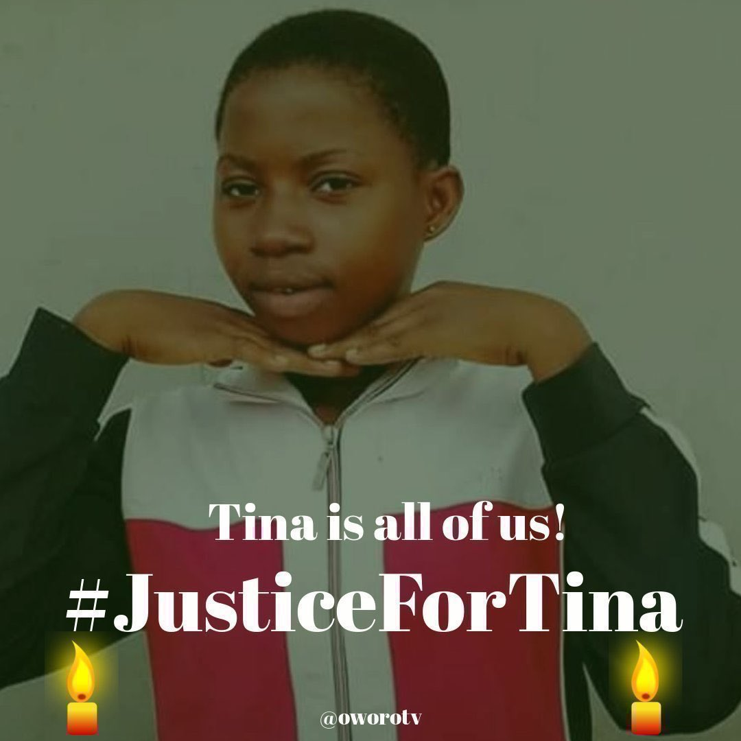 @PoliceNG How long will it take you to parade Tina's killer and jail his stupid ass? #JusticeForTina is not just specific enough? https://t.co/6WtSepieAu