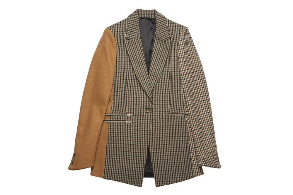 """アクネ ストゥディオズ、異素材を繋いだ新作ウィメンズジャケットやシャツ - """"余り素材""""を再利用 -"""