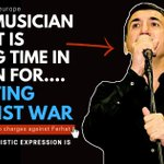 Image for the Tweet beginning: Popular musician Ferhat Tunç faces