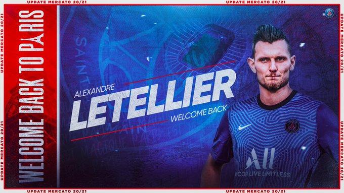 Le PSG engage Letellier