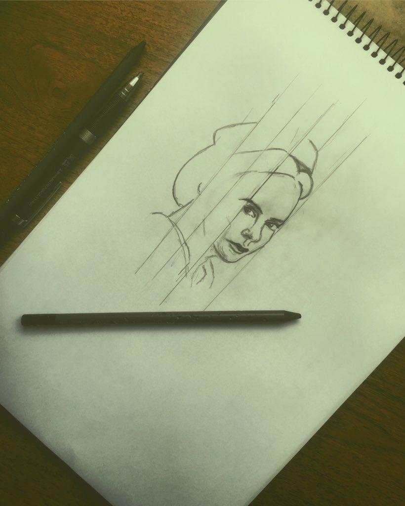 Mildred #Pencildrawing #pencilart #sketchbook #sketch #drawing #RATCHED @MsSarahPaulson https://t.co/jtXMvfnUeN