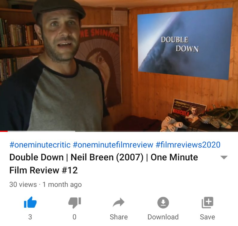 Double Down | Neil Breen (2007) | One Minute Film Review  #doubledown #neilbreen #thedonttellshow #cultfilm #reviewsonrealism #youtubefilmreview #filmreviews2020 #oneminutecritic   https://t.co/6bkRnEOczt https://t.co/Zm6G7iMElg