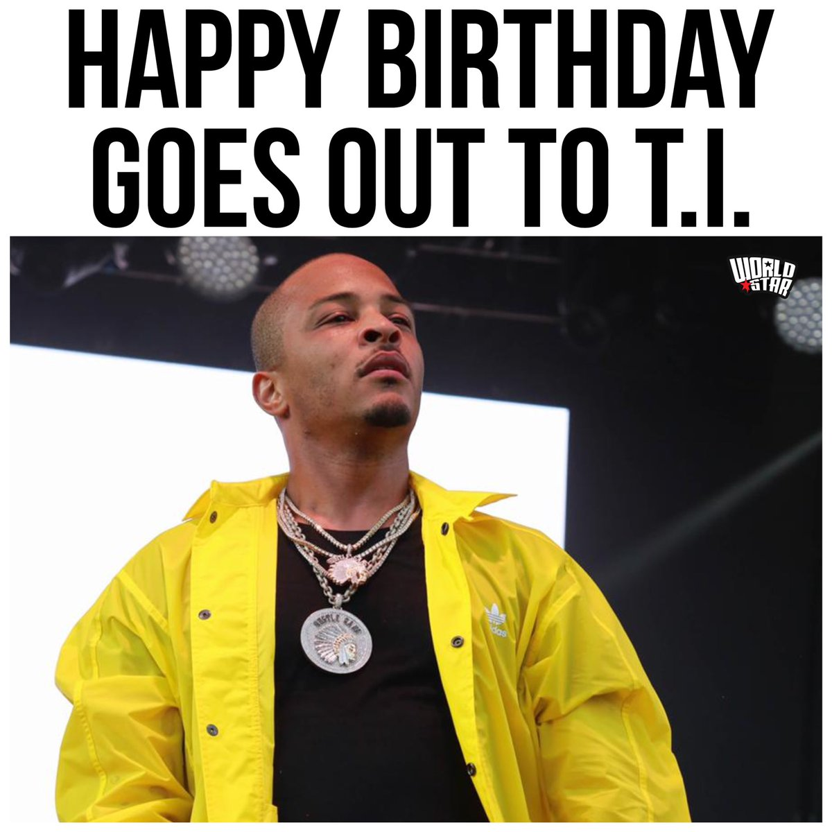 #HappyBirthday goes out to #TI! He turned 40 today! Comment your favorite song of his below! 👇🎂🎈 @Tip https://t.co/nfw3r0O1yu