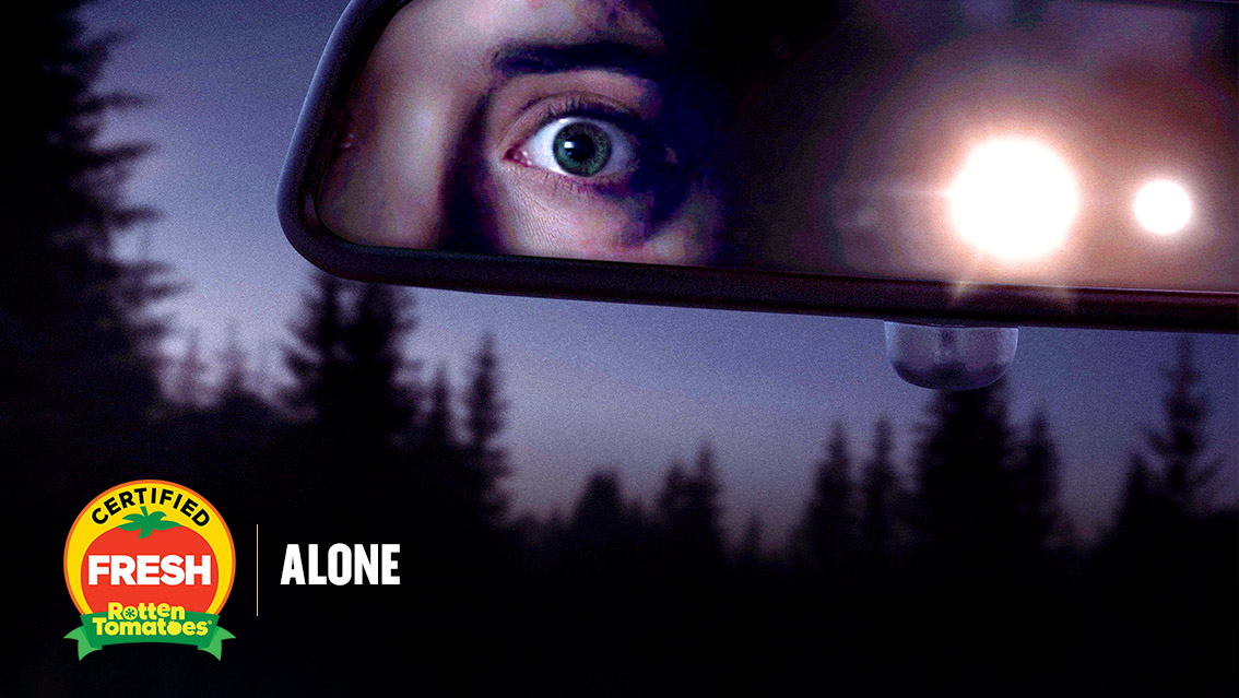 #Alone's minimalistic approach makes this heightened thriller a gripping and suspenseful experience.  #AloneMovie is now #CertifiedFresh at 95% on the #Tomatometer, with 41 reviews: https://t.co/7M8oNUgIks https://t.co/aT1rtxpyzU - RottenTomatoes