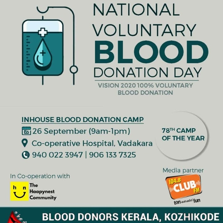 #Blood #Donation #Day https://t.co/mGFL14bYba