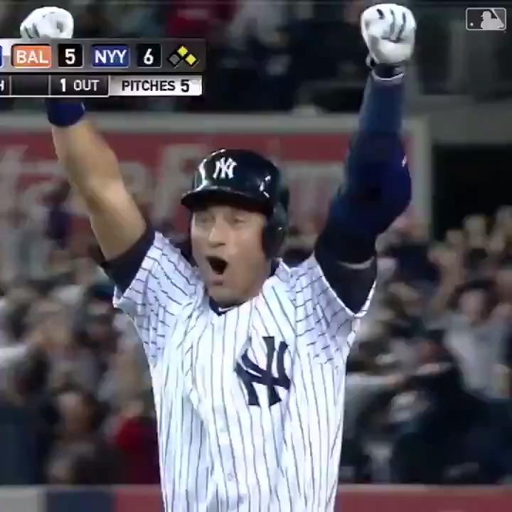 Replying to @MLB: Derek Jeter's legendary final Yankee Stadium at-bat happened six years ago today.