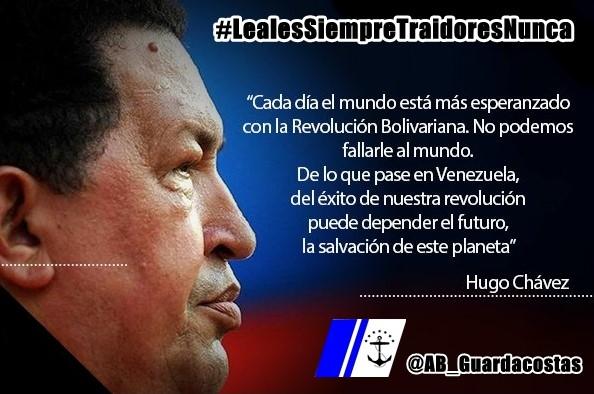 """#25Sep El Comando @AB_Guardacostas, Actitud Combativa en la Salvaguarda Naval, te presenta """"Pensamientos Revolucionarios"""", huellas imborrables que cada día están más vigente que nunca. Chávez Vive… La Patria Sigue!  SEGUIMOS VENCIENDO al #COVID19  #LealesSiempreTraidoresNunca https://t.co/hV5FeX4VwV"""