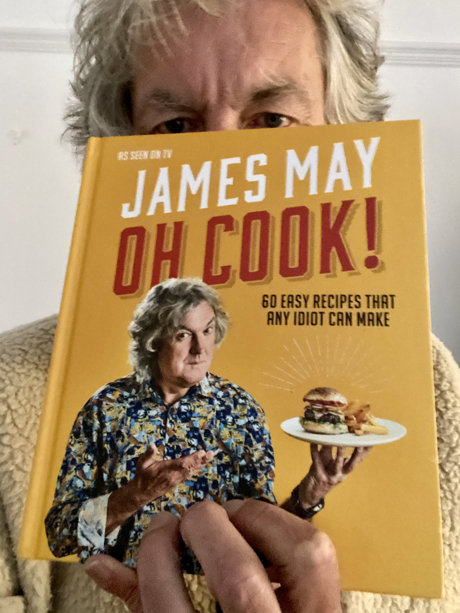 Only 34 days until my book of idiots' recipes comes out. Pre-order to ensure disappointment.