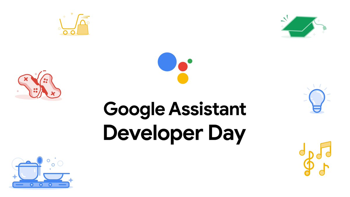 Image for the Tweet beginning: You're invited to Google Assistant