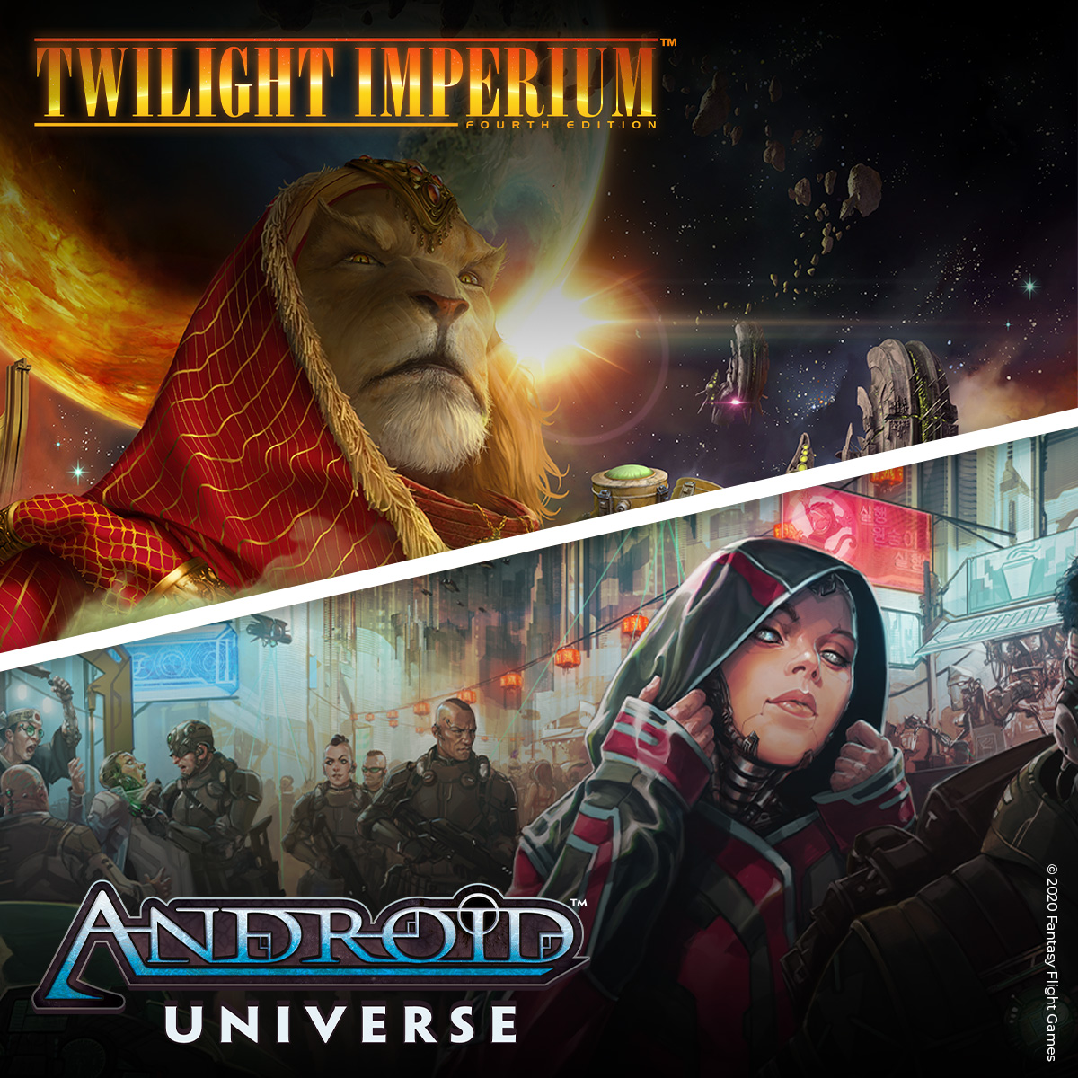 Twilight Imperium and Android comics! CMON is proud to partner with Asmodee to bring these worlds to life! Full announcement: https://t.co/t4izD4B4c7  #twilightimperium #androiduniverse #cmongames #asmodee   #fantasyflightgames https://t.co/z7rHLajwXb