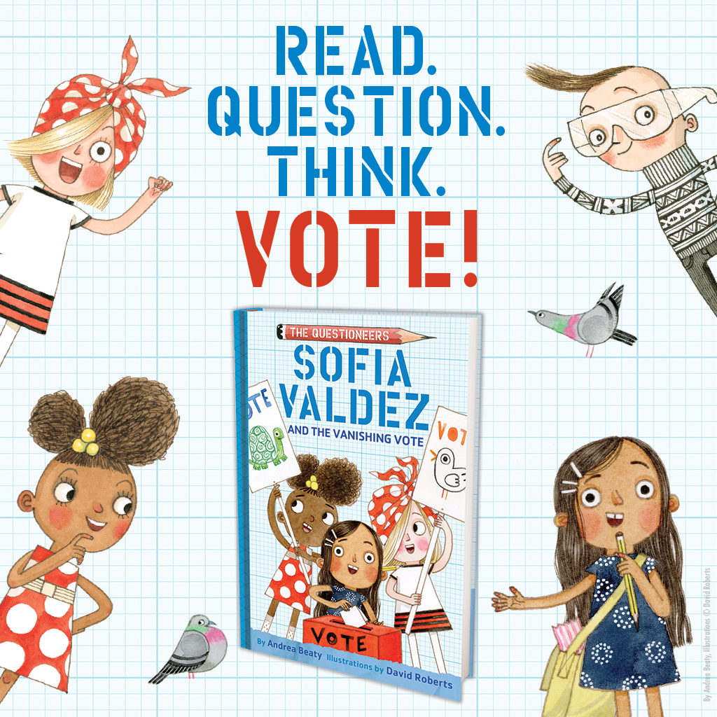 PSA: There are 39 days until #ElectionDay, and only 11 until #SofiaValdez's new story is out in the world! Head to our Instagram *right now* for your very first look . . . then go ahead and make sure you're ready to #RockTheVote. https://t.co/z1XVp9oqhy #TheQuestioneers https://t.co/Wrj2IIUwc3