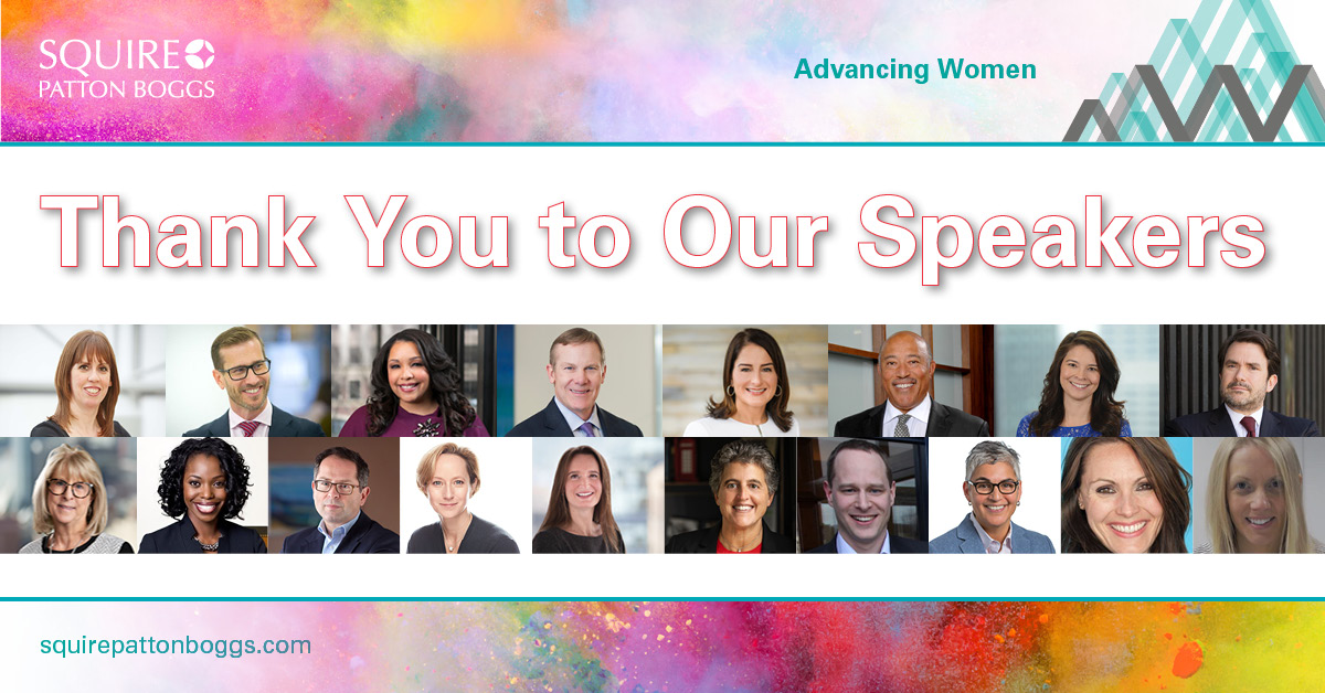That's a Wrap ✨  Thank you to all of our speakers, moderators, event organisers and attendees for your time, energy and insight this week for our Global #SPBAdvancingWomen Week: Inspire, Elevate, Empower.  #InclusiveLaw #WomeninLaw #AdvancingWomen https://t.co/kWcnKXOjPf
