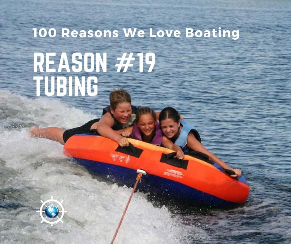 Just jump on and go! Tubing never gets old - too bad your back does.  #tubingfun #tubing #boatingtoys #boattube #watersports #waterfun #towboats https://t.co/TBHlowKt0i