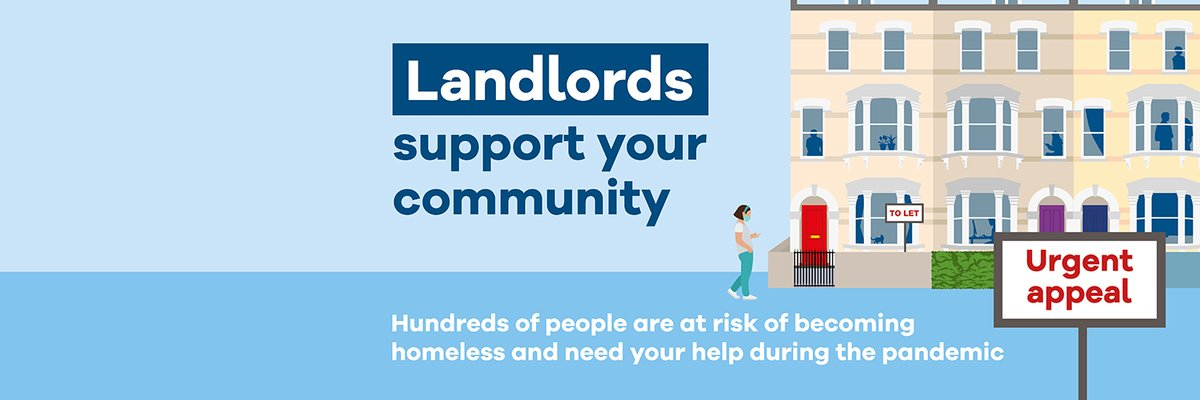 We are calling on landlords to help hundreds of people at risk of homelessness during the COVID-19 pandemic. If you have a property to rent at LHA rates please contact us on 020 7974 4158 or visit https://t.co/ocbhBbQkbY https://t.co/DXSjHAhZ1i https://t.co/UowCXxqkTs