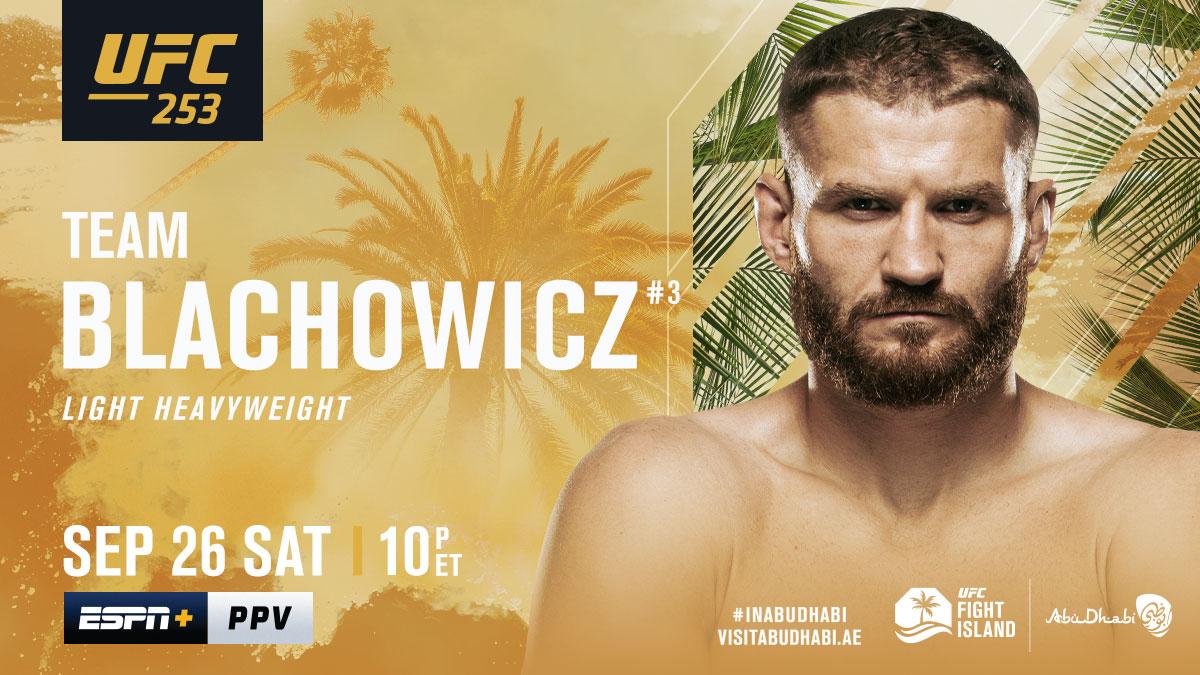 Poland, stand up 🇵🇱  RT if you're w/ @JanBlachowicz tomorrow night!  [ #UFC253 | #InAbuDhabi | @VisitAbuDhabi ] https://t.co/rHLrr1EGbR