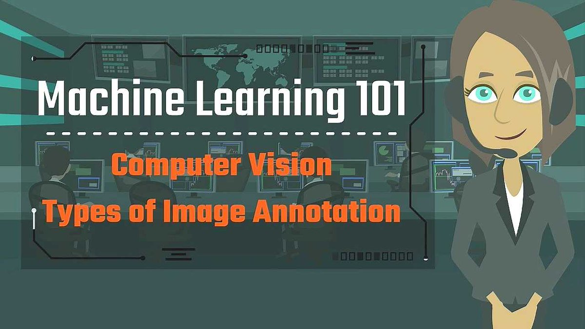5 Main Types of Image Annotation [Video] buff.ly/3goMBNe #BigData #AI #MachineLearning Cc @andi_staub @marcusborba @dinisguarda @jblefevre60 @Paula_Piccard @HaroldSinnott @LouisSerge @Ronald_vanLoon @Nicochan33