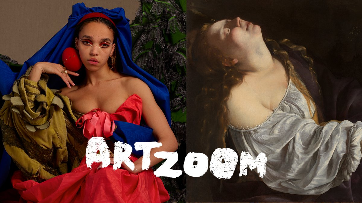 British singer @fkatwigs dives into the story of Artemisia Gentileschi, the female painter who fought the patriarchy back in the 17th century...and won.   Get up close to the art on this episode of #ArtZoom with @googlearts and @nationalgallery → https://t.co/pmueBVznEc https://t.co/zmhTCbwz4A