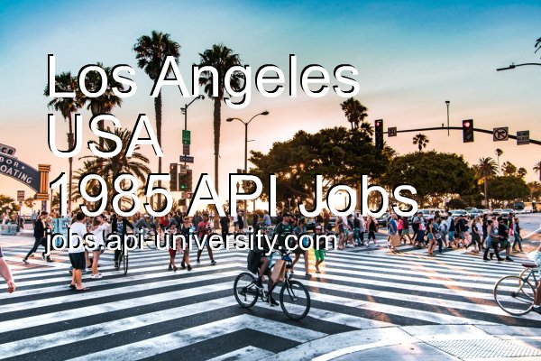 1985 API jobs in Los Angeles. #API #job #career #LosAngeles Find the right job for you! https://t.co/mwhHVsKiCu https://t.co/aHKtBAqExg