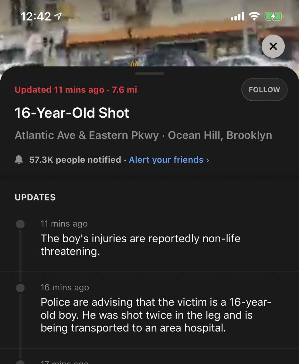 @NYCMayor Friday  #shooting  #Violence #everyday  #newyorkcity NOT SAFE Blame #deblasio  #DeBlasioNYC #debasiomustgo https://t.co/BUKvC32svX