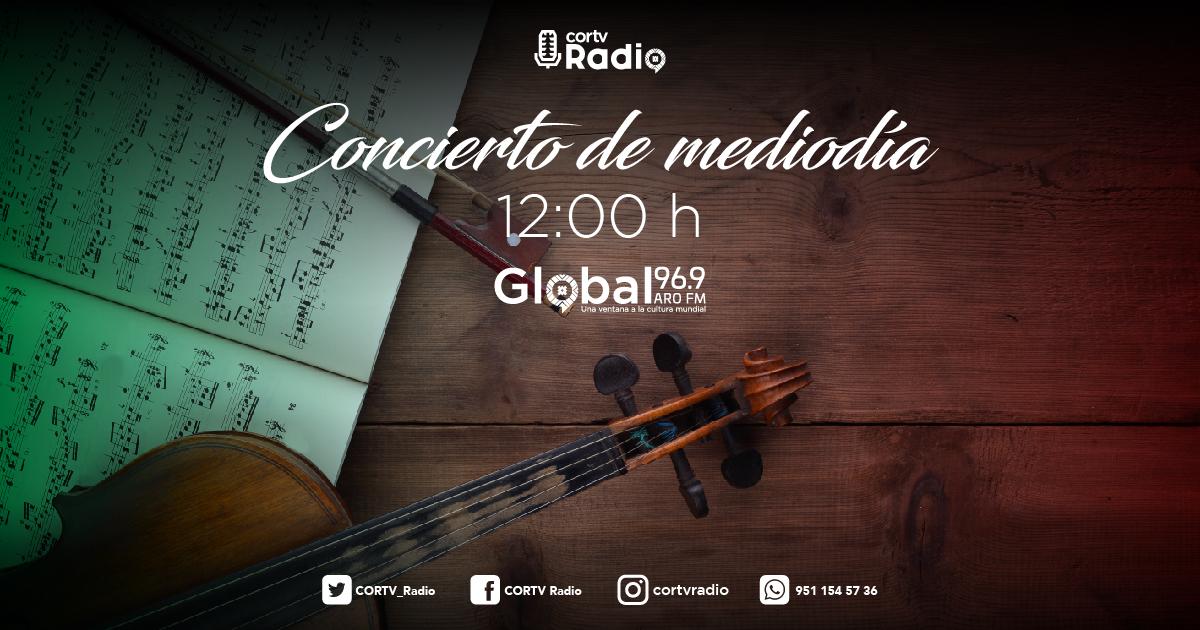 Disfruta hoy de la música mexicana de concierto en esta su última semana dedicada a los compositores más representativos de nuestro país con motivo del mes patrio. 🇲🇽 Por #Global 96.9 https://t.co/5vfpKGXUtm 📻  ⏰12:00 h 📻#Global 96.9  💻https://t.co/5vfpKGXUtm #Oaxaca @cortv https://t.co/OAp7NYrGYY