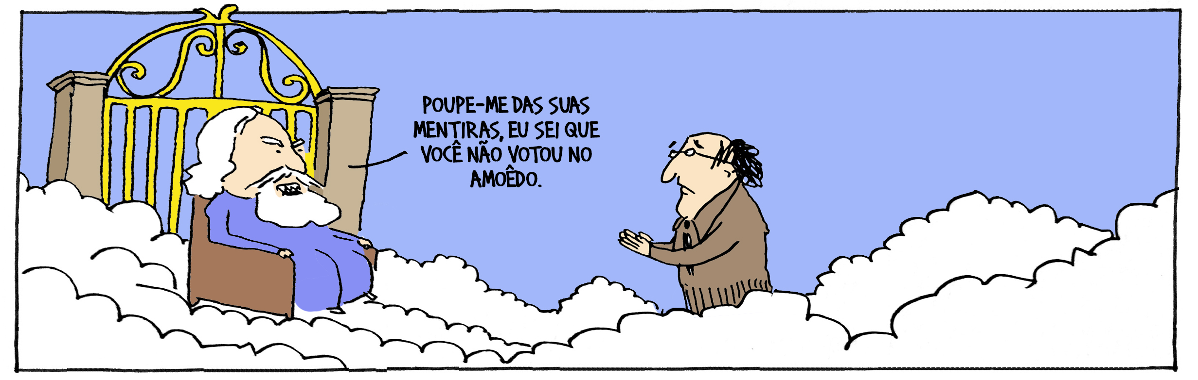 O eleitorado do Amoedo